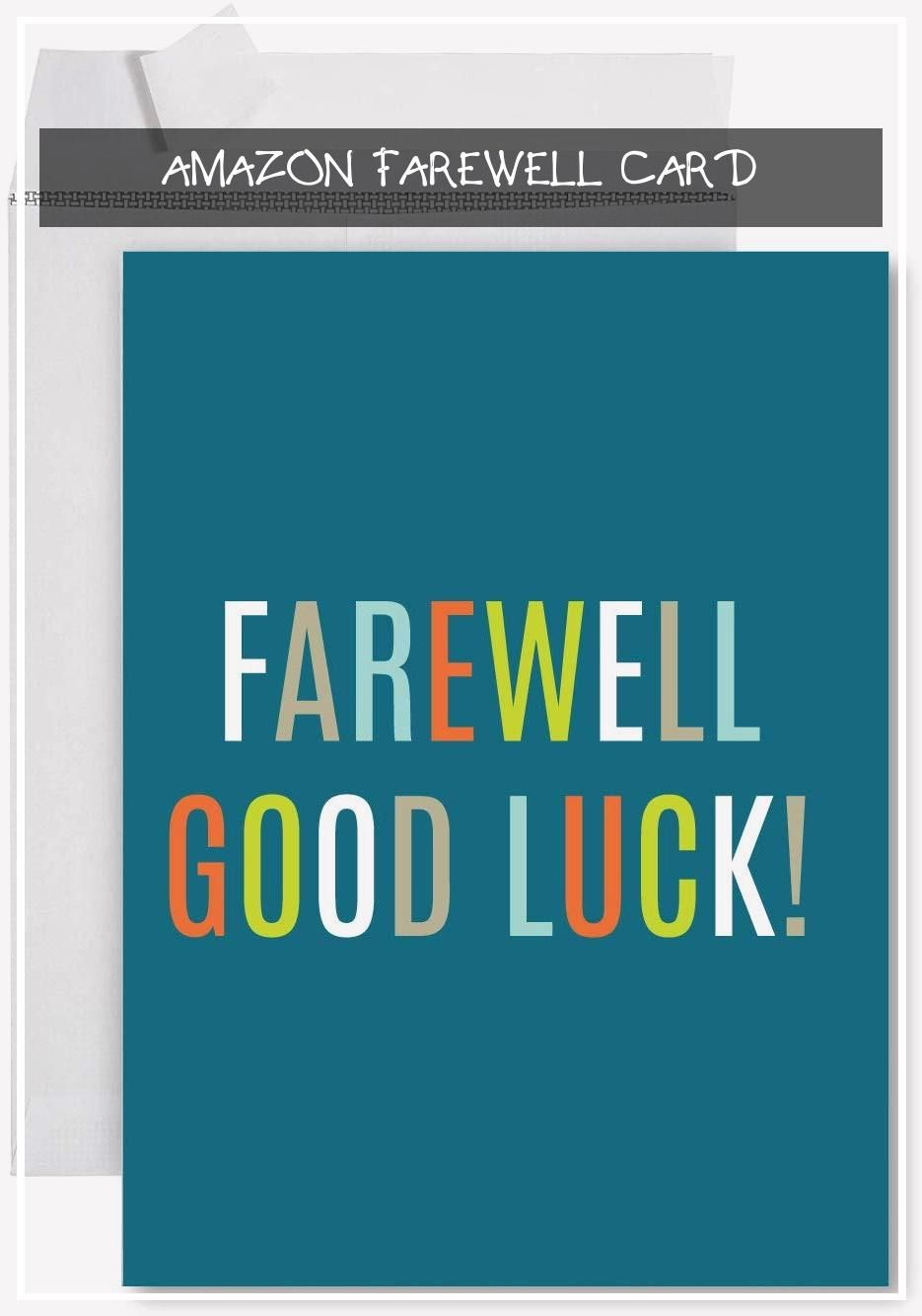 11 Primary Amazon Farewell Card Farewell Cards Cards Retirement Cards