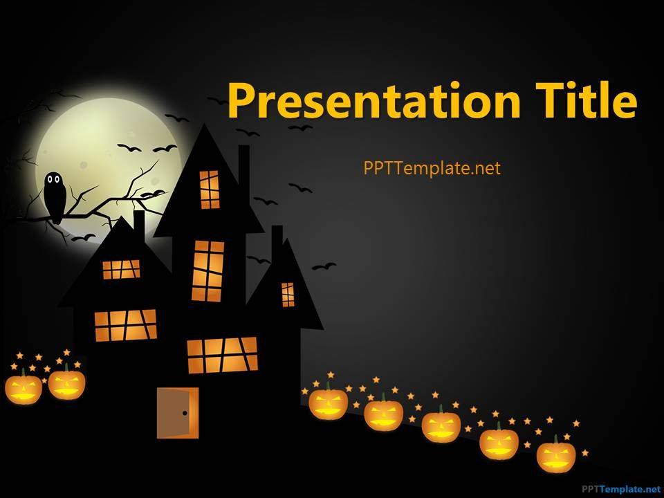 HalloweenPptTemplate  Riya    Ppt Template