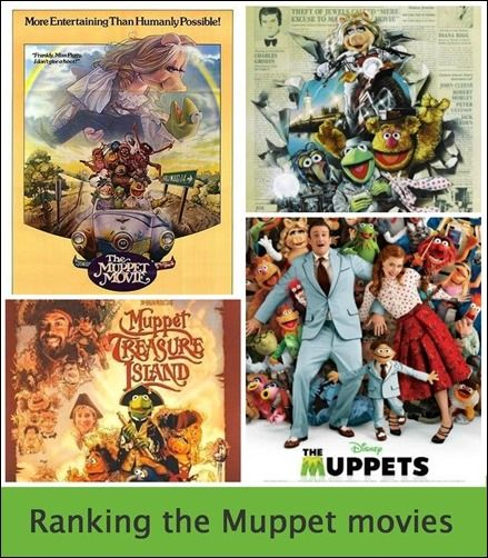 Make a list of your favorite Muppet movies | Muppet Mania