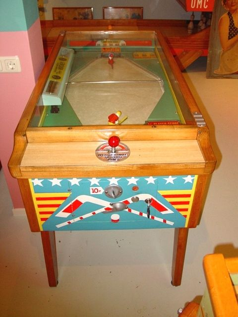 coin op table