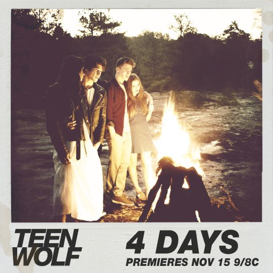 Teen Wolf - Season 6 - four years ago. four strong people. FOUR MORE DAYS!