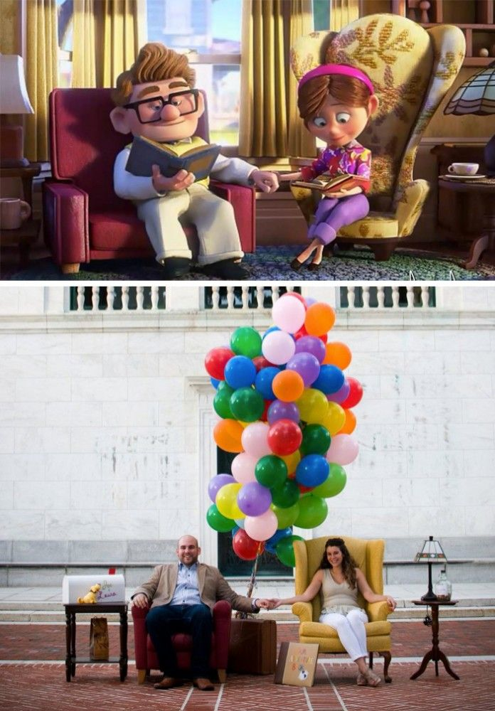 Up Themed Marriage Proposal Themed Engagement Photos Marriage Proposals Disney Inspired Wedding