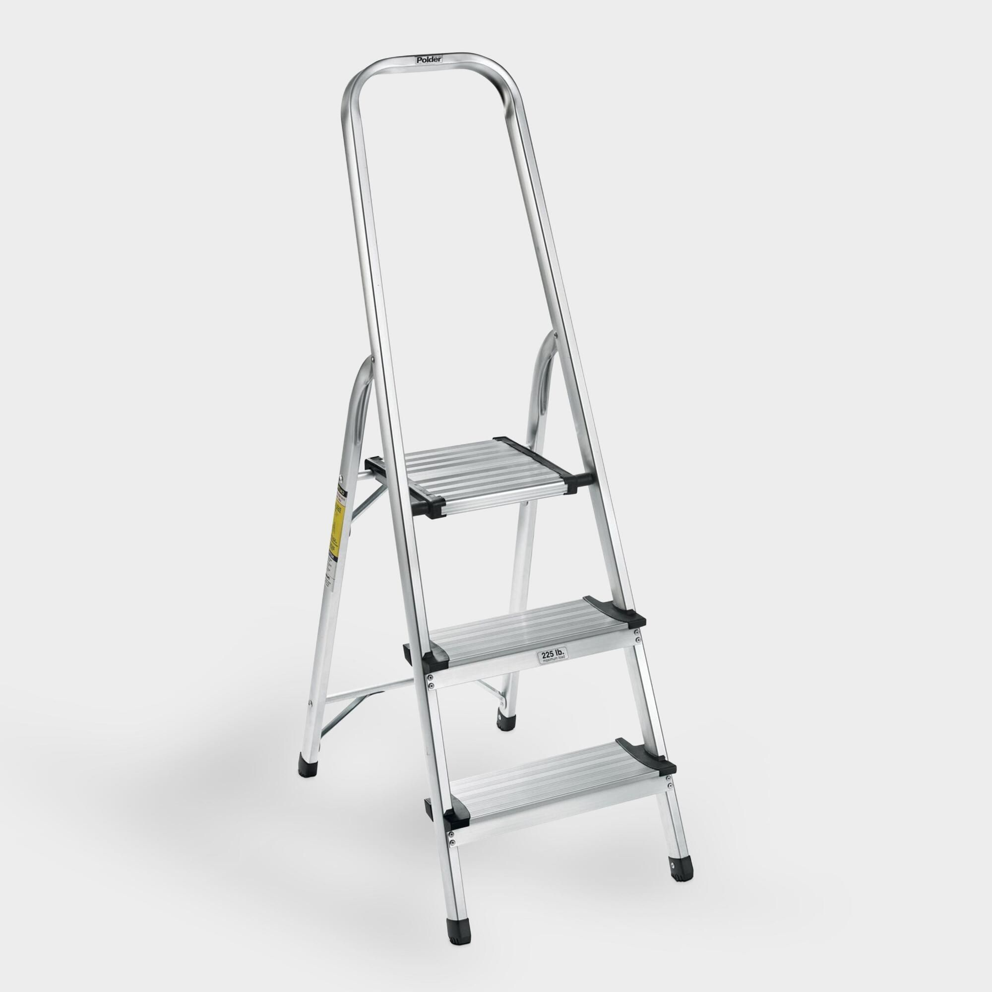 3 Step Ultralight Step Stool Metal By World Market