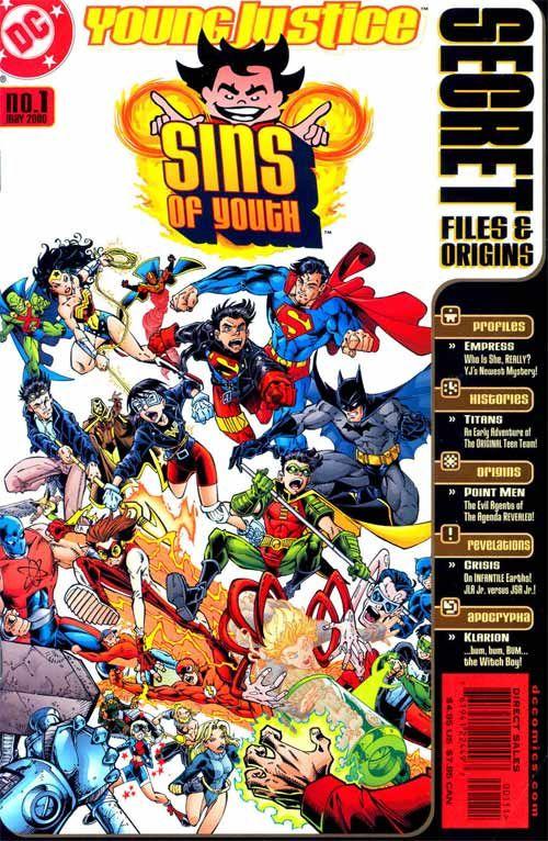 Sins of Youth Secret Files (2000) - #1