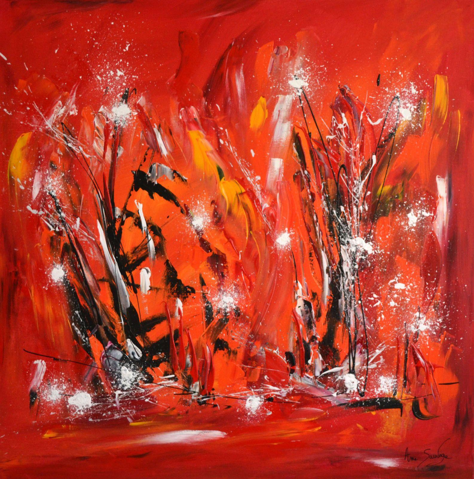 moderne avec tableau contemporain pas cher idees et tableau moderne rouge abstrait avec 1586x1600px dibujo - Tableau Contemporain Pas Cher
