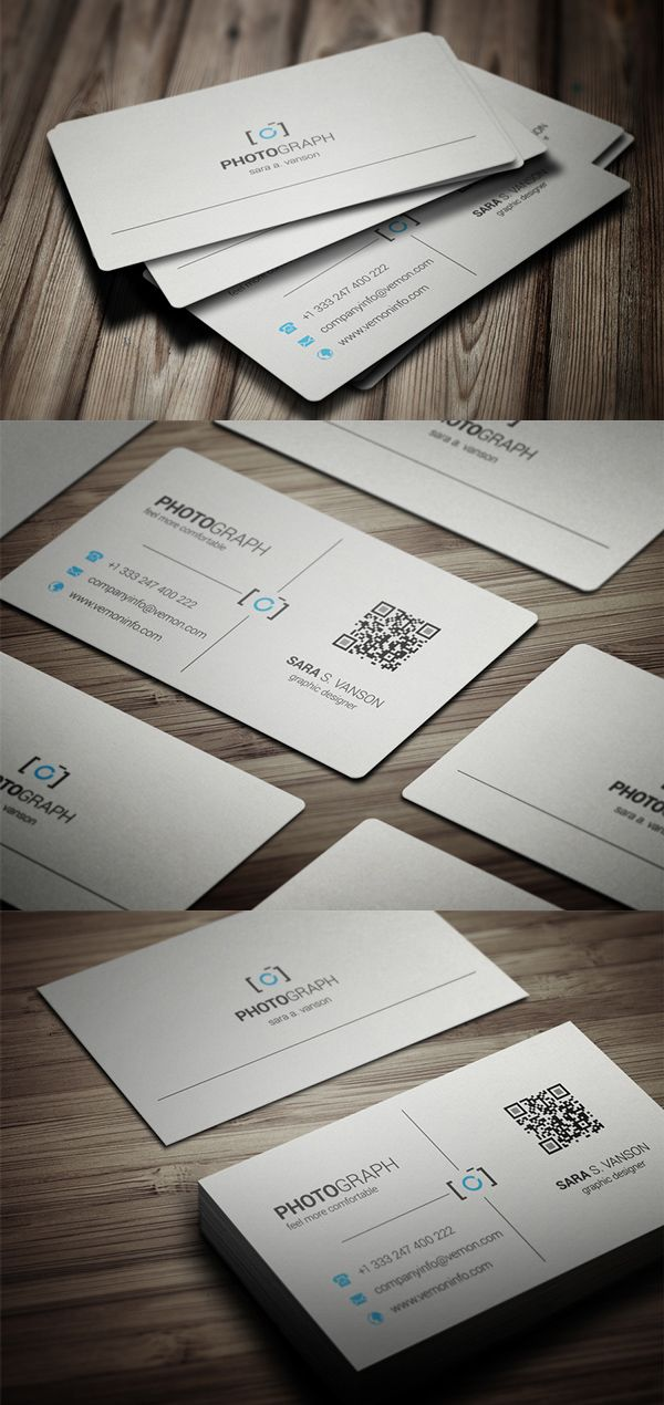 Photography Business Card #businesscards #businesscardtemplates ...