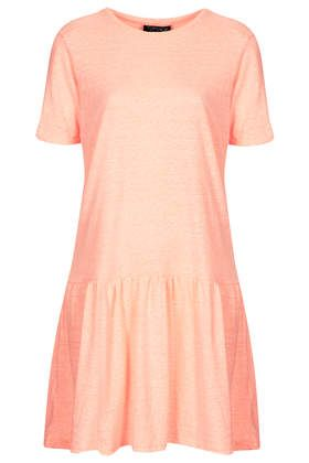 Drop Waist Jersey Tunic Dress. Brothers confirmation - would look nice with white sandals.