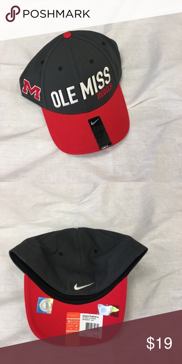 new concept 1d83e 905bf Ole Miss Rebels Nike Dri-Fit L91 Flex-Fit Hat Ole Miss Rebels Nike Dri-Fit  Legacy91 Flex-Fit Cap. Save money by bundling with other items in my store.