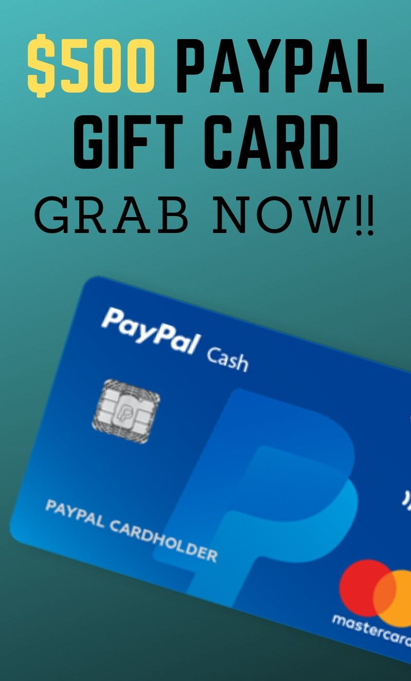 Image result for Get a $500 PayPal Gift Card Now!