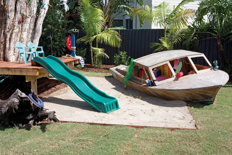 Bauplan Kinder Spielplatz Garten Sandkasten Piratenschiff Selberbauen Diy Sandbox Pirateship Gartendek Kinder Spielplatz Garten Hintergarten Spielplatz