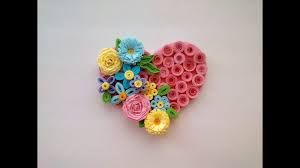 Image result for heart quilling