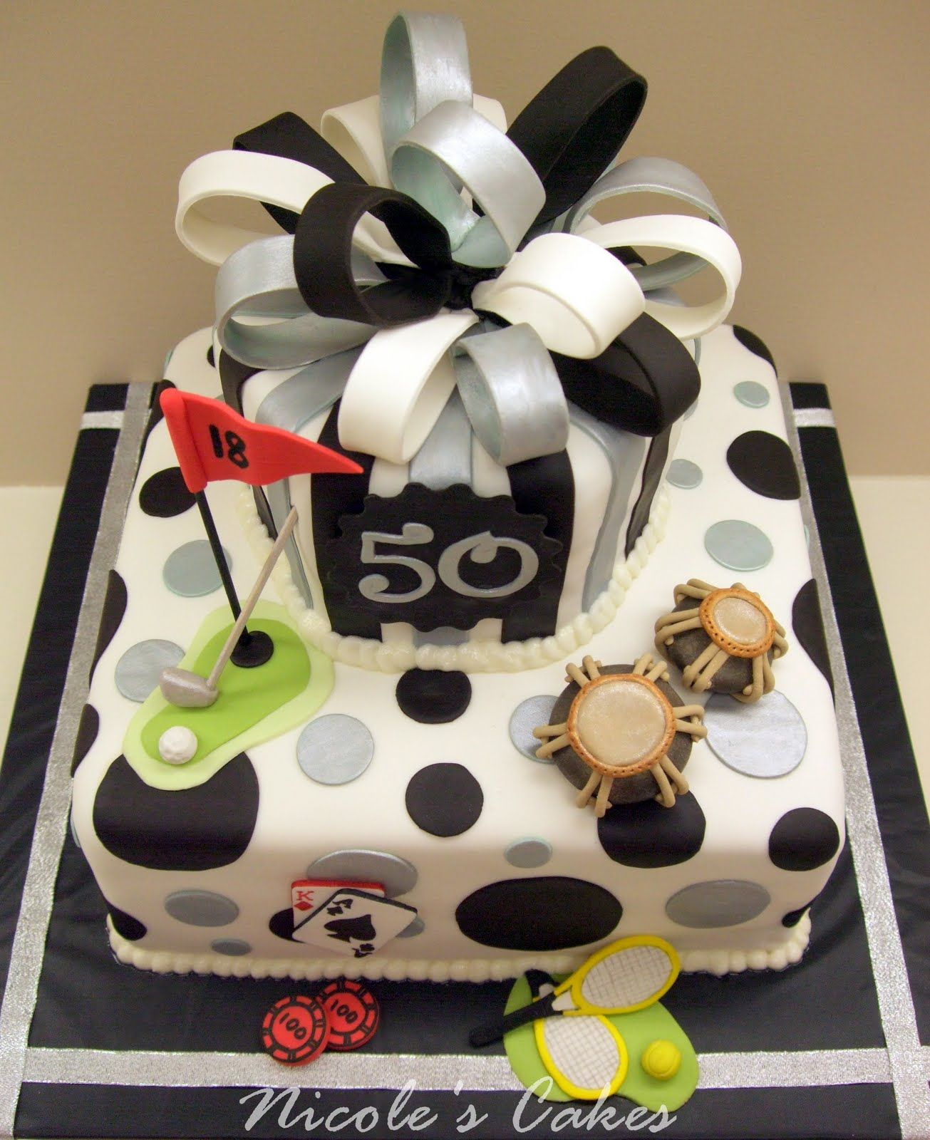 50th men birthday cake cakes ideas cake ideas for men pinterest birthday cakes birthdays - Mens cake decorating ideas ...