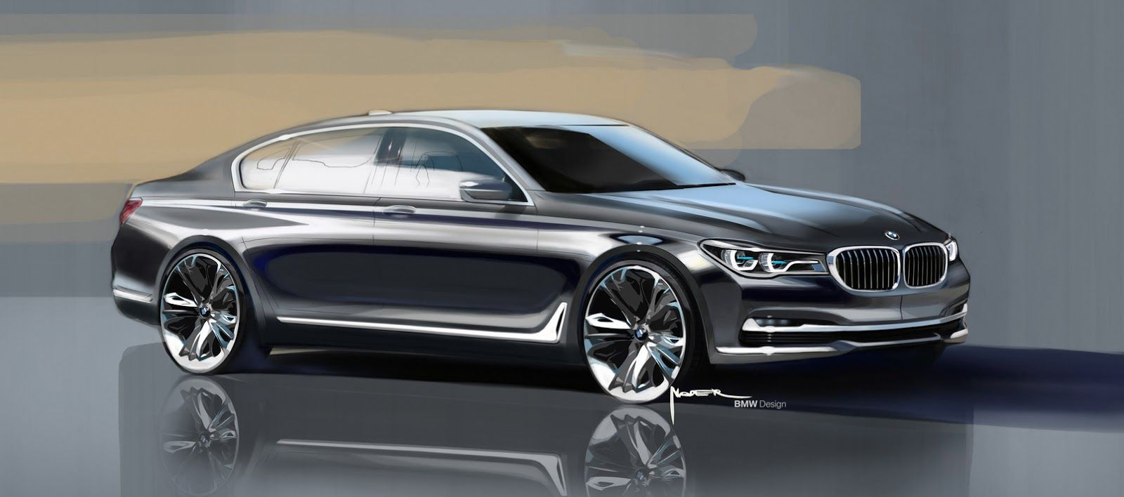 The All New 2016 Bmw 7 Series In 169 Photos And Full Details Bmw