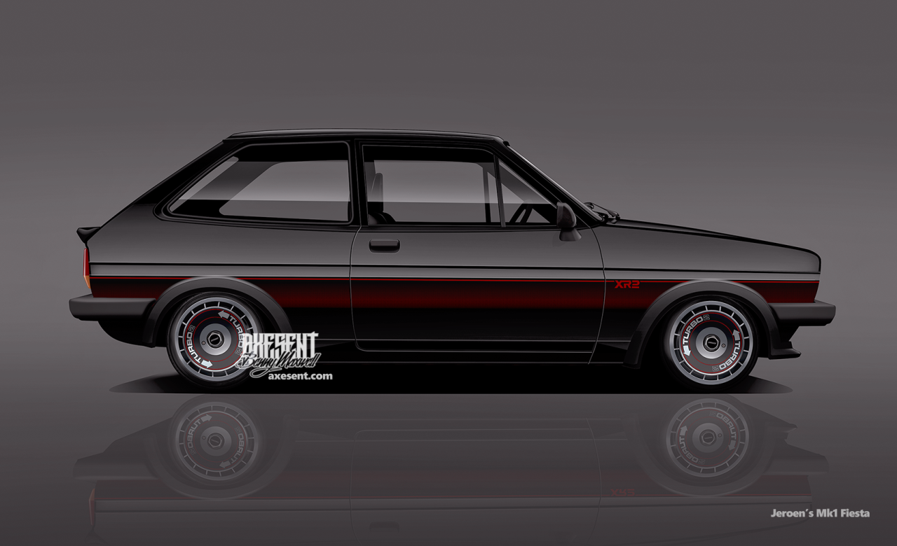 Ford fiesta xr2 mk1 by axesent to ride pinterest for Garage ford 62