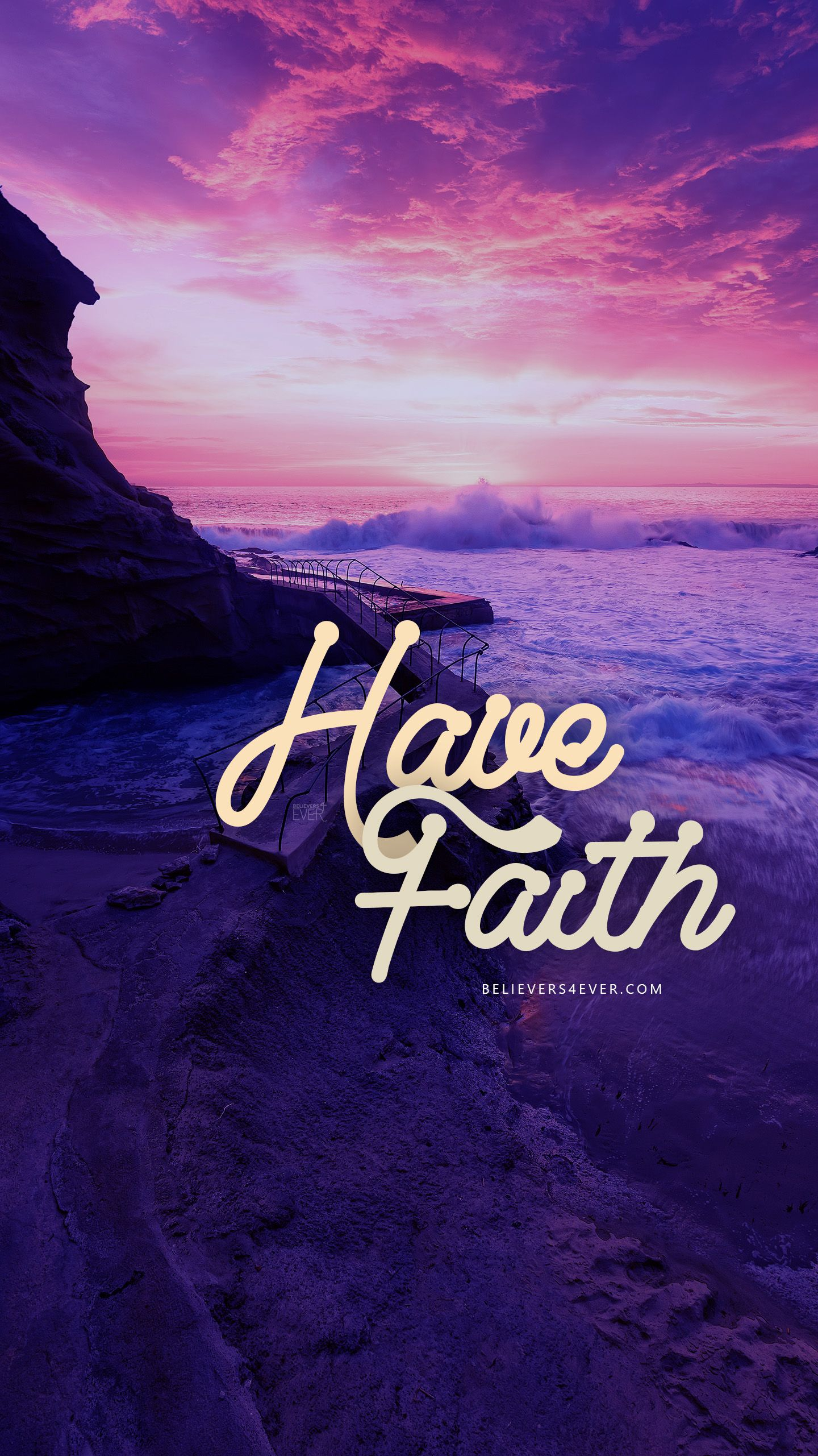 Have Faith Scripture wallpaper, Phone wallpaper bible