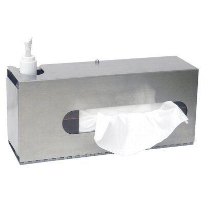 omnimed sanitation glove box holder deep drawer on disinfectant spray wall holders id=43093