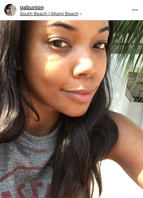 20 Black Celebrities Who Ditched The Makeup And Slayed Anyway Celebs Without Makeup Natural Hair Styles Free Makeup
