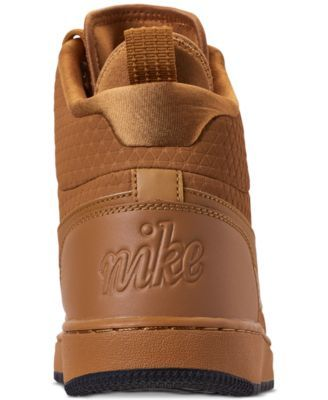 new arrivals 4e976 00a28 Nike Mens Ebernon Mid Winter Casual Sneakers from Finish Line - Yellow 10.5