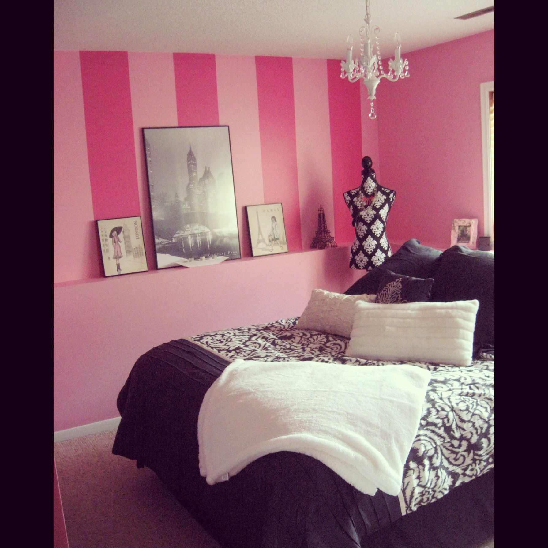 Girly room fashion pinterest girly room and bedrooms for Bedroom designs girly