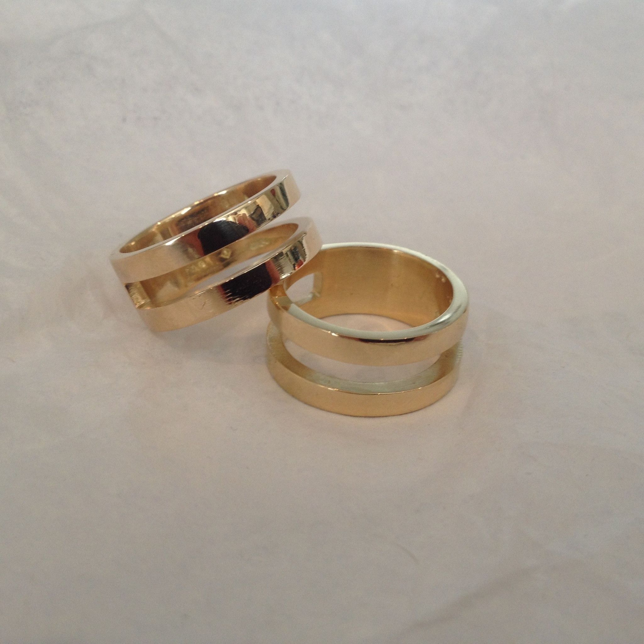 Parallel Ring 14ct Gold Ring sizes chart, Today gold