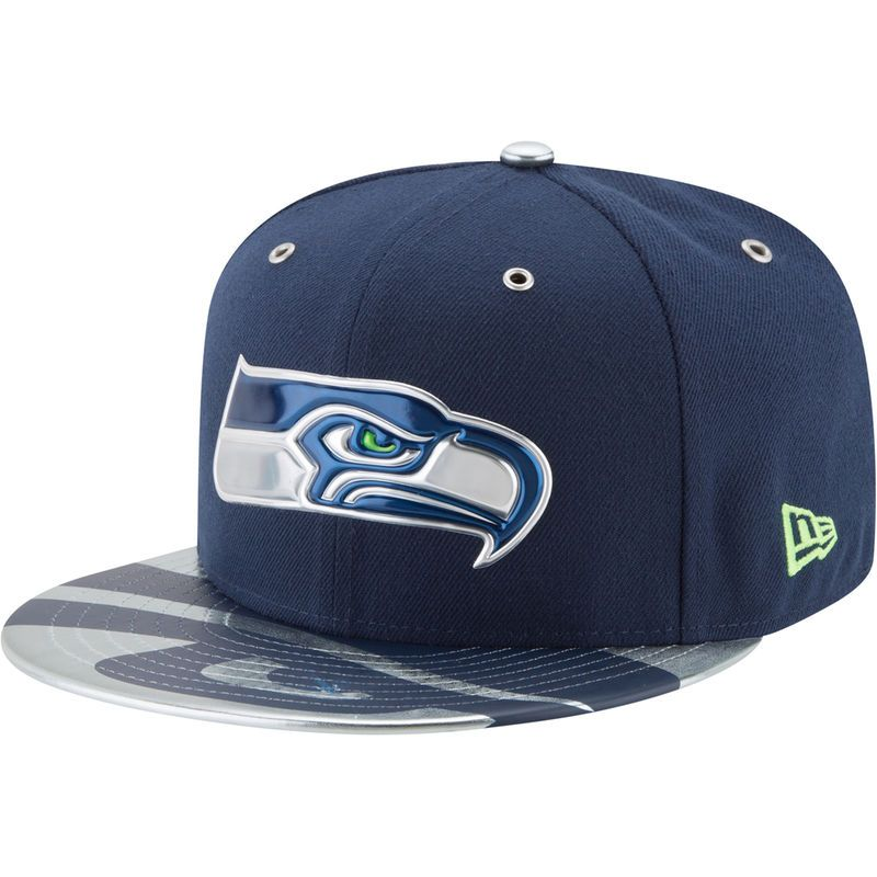 buy popular 39a0b 53caf ... cheapest seattle seahawks new era 2017 nfl draft spotlight 59fifty  fitted hat navy 76453 a4d41 authentic mens ...