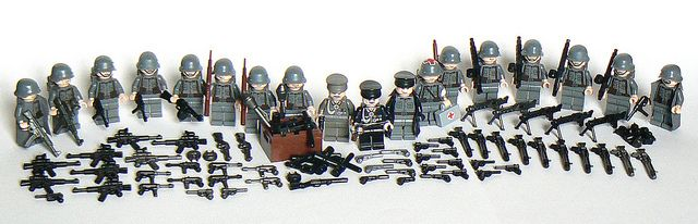 Lego WWII German Army | Lego WWII | Lego ww2, Lego, Lego war