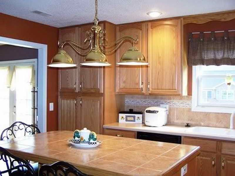 terrific kitchen colors light oak cabinets | kitchen kitchen paint colors with oak cabinets blue from ...