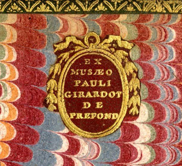 Paul Girardot de Préfond (1...-1765?) #Rouge