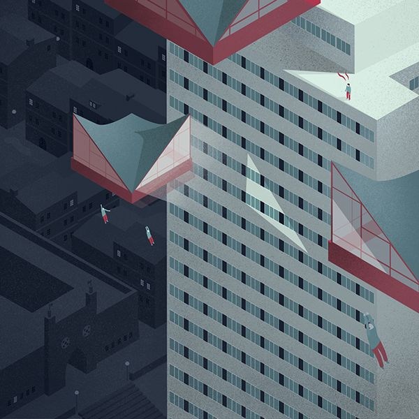 Get Your Head Around the City / Subjective Guide on Behance
