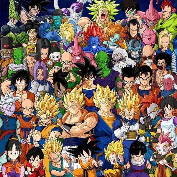 The Whole Dragonball Family Dragon Ball Z Dragon Ball Super Dragon Ball
