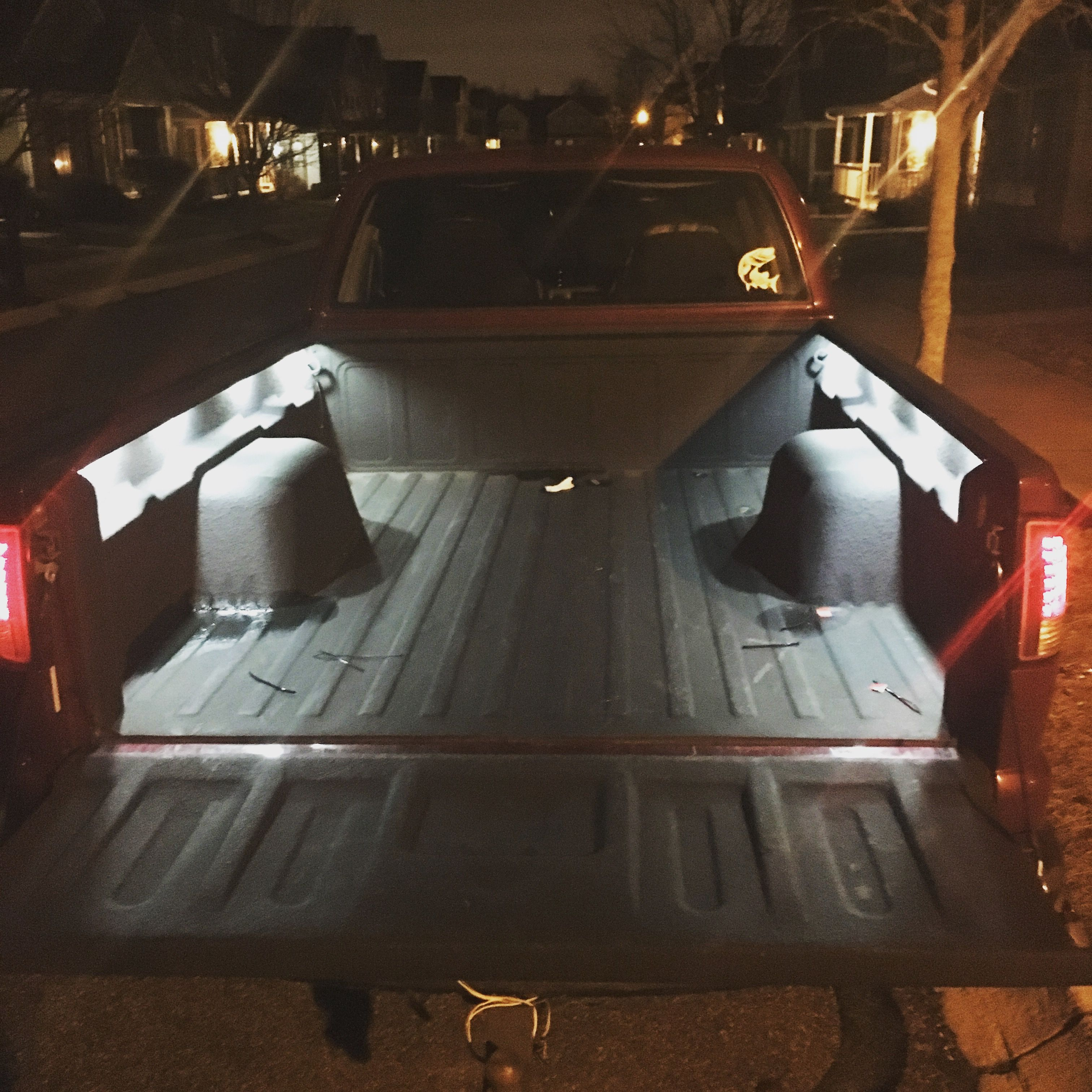 Bed light kit Bed lights, S10 pickup, Bed