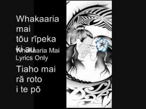 Lyrics Only Whakaaria Mai Lyrics Youtube Movie Posters