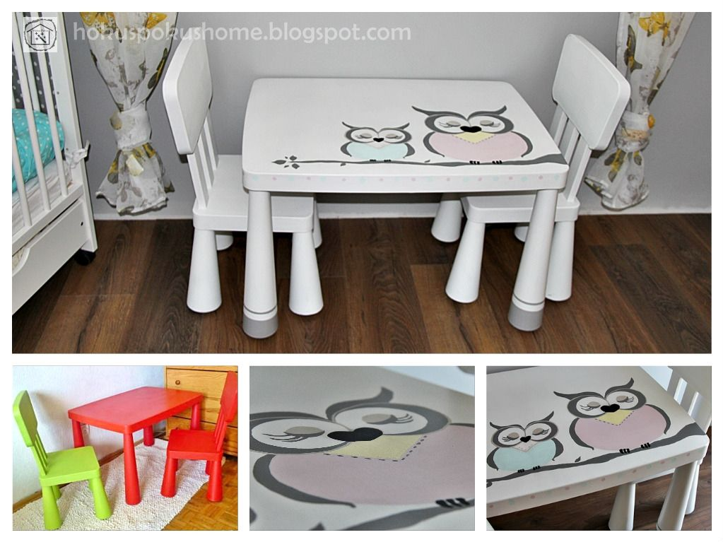 Ikea Hack Ikea Mammut Table Makeover Stylizacja Mebli
