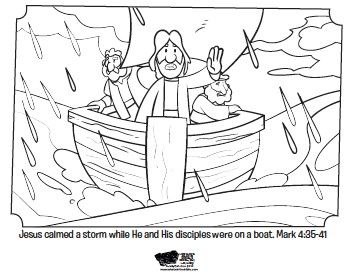 Free printable coloring pages from What's in the Bible