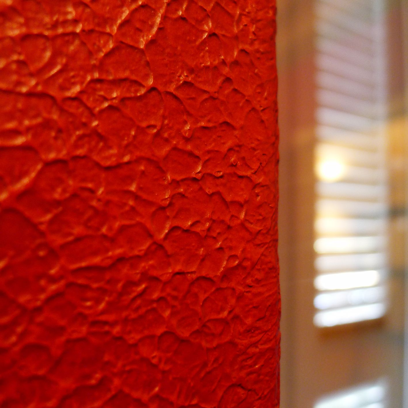 Red Texture Wall