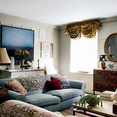 Best Interior Design For Living Room Cool The London Flat  English Interior White Wall Paneling And Interiors Inspiration