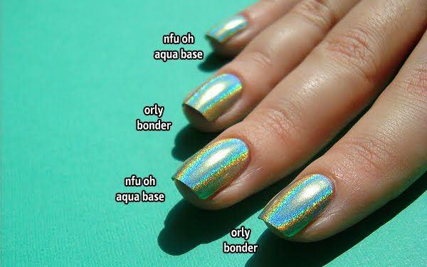 NFU OH aqua base, love this!!!!