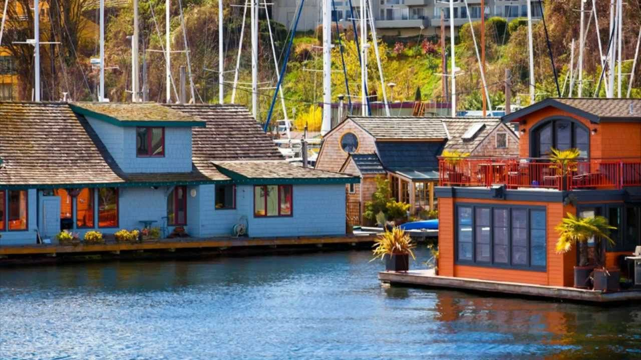 21 floating homes in seattle portland vancouver