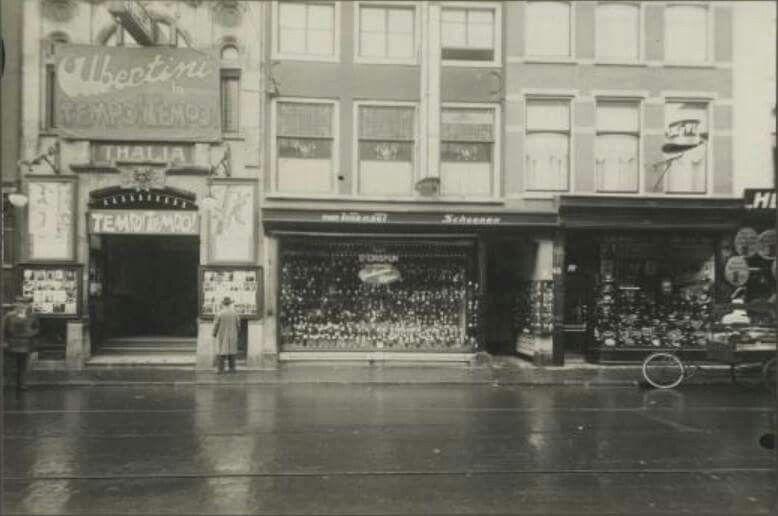 Boekhorststraat,Thalia bioscoop ca 1930