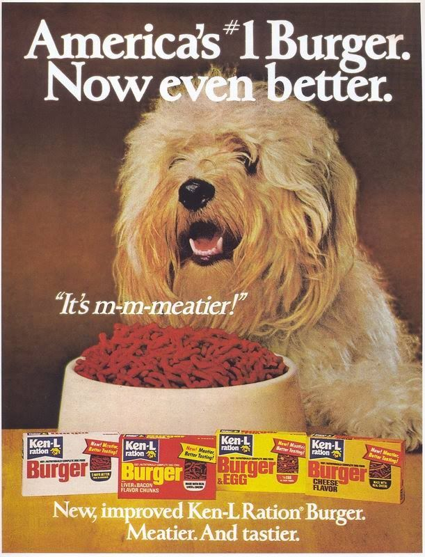 13 Retro Dog Food Advertisements The Hydrant Blog Pet