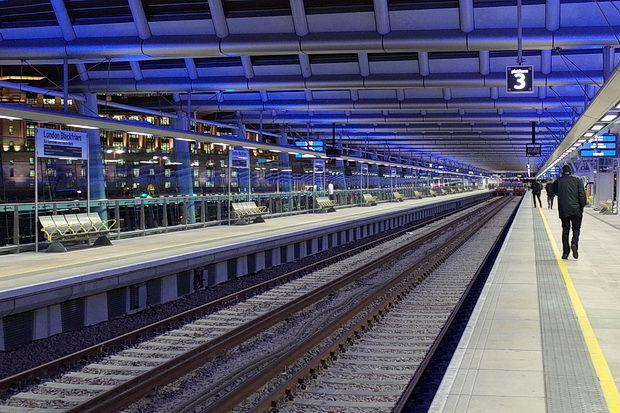 Bridge With Solar Panels London