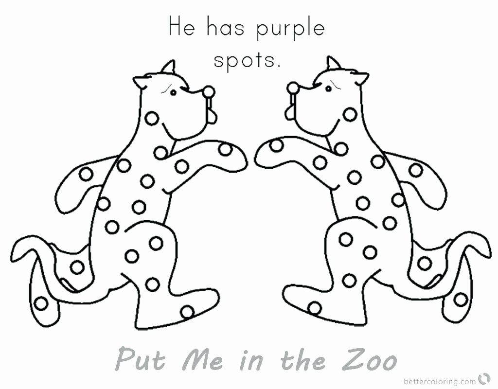Coloring Pages Zoo Animals Preschool Fresh Purple Coloring