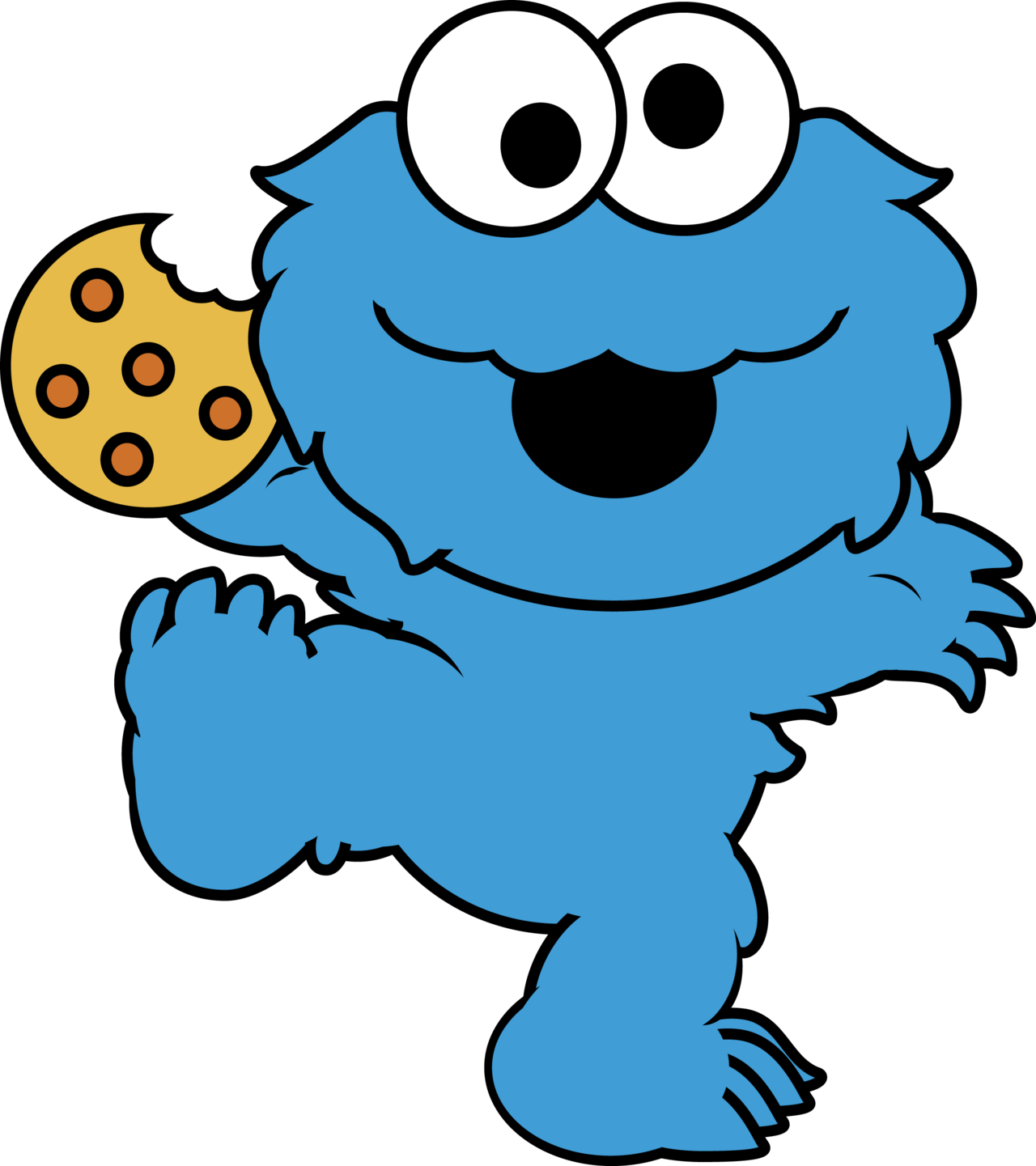 This Is Best Cookie Monster Clip Art Face Clipart Free Images For Your Project Or Presentation To Use Personal Commersial