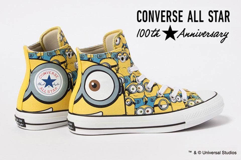 Minions sneakers by Converse (╹◡╹)♡ | Converse, Minion ...