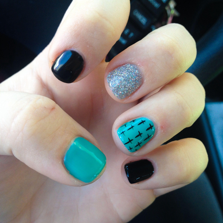 Cross nail design   Nailed it   Pinterest   Cross nail designs ...