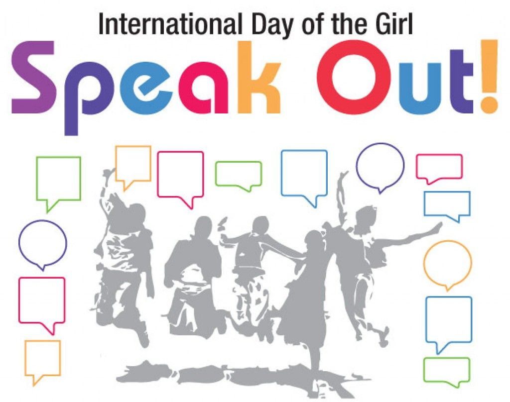 """International Day of the Girl: Girls Speak Out"" from AAUW"