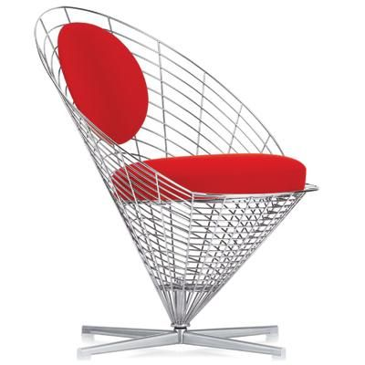 Poltrona Verner Panton.Wire Cone Chair By Verner Panton Produced By Vitra