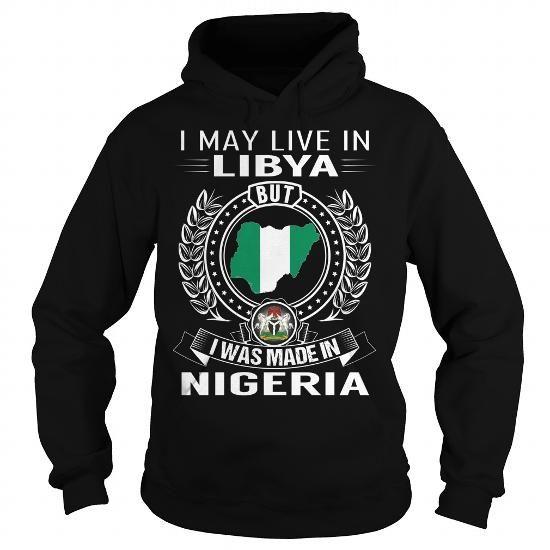 I Love Nigeria - Libya New T-Shirt