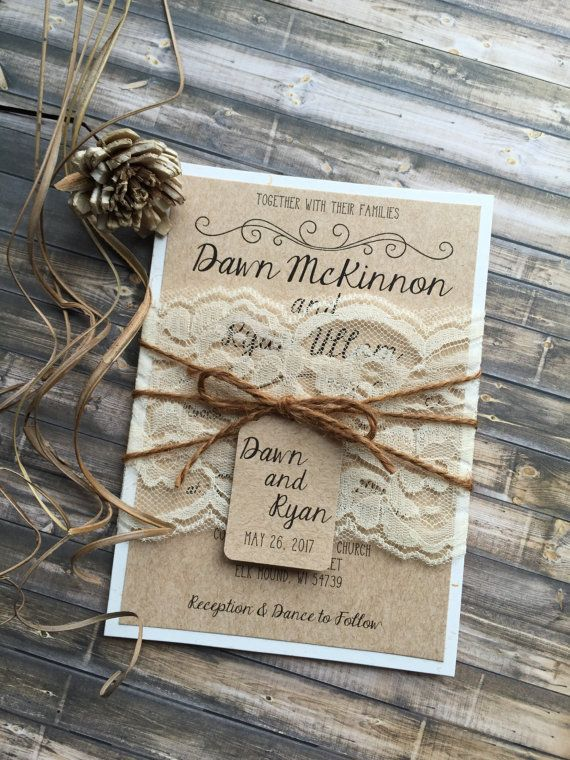 Rustic Wedding Invitation Vintage Wedding Invitation Elegant Etsy Barn Wedding Invitations Wedding Invitations Rustic Beach Wedding Invitations
