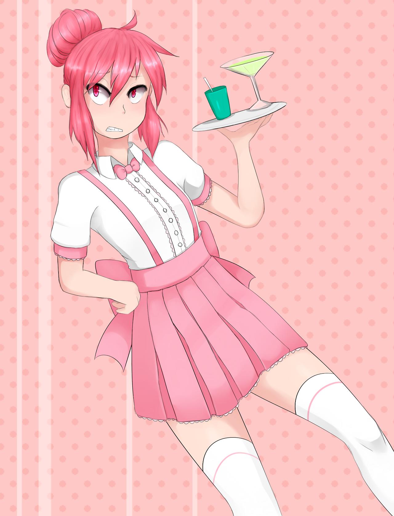 Waitress Kumatora (aka Violet) Tag art